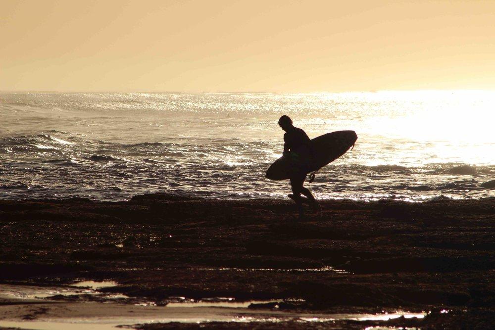 Nick Moloney Surfing