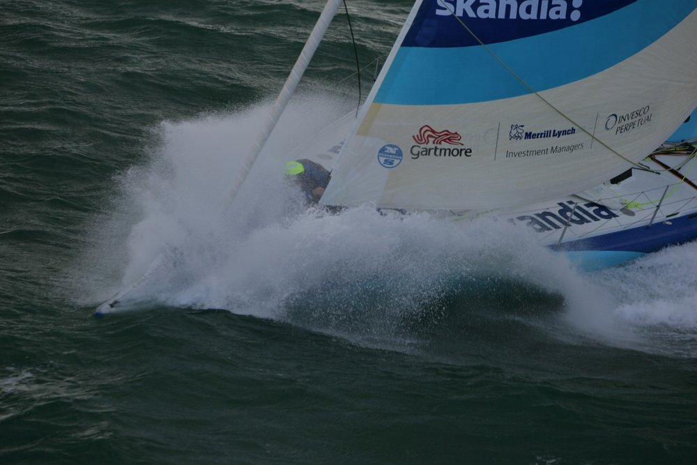 Nick Moloney Vendee Globe world record
