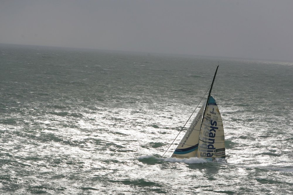 Nick Moloney Vendee Globe Atlantic