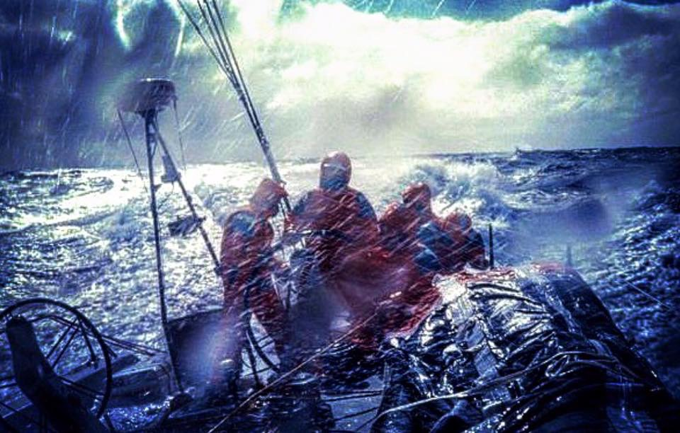 Nick Moloney Volvo Ocean Race