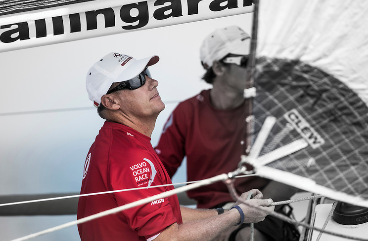 Nick Moloney Volvo Ocean Race