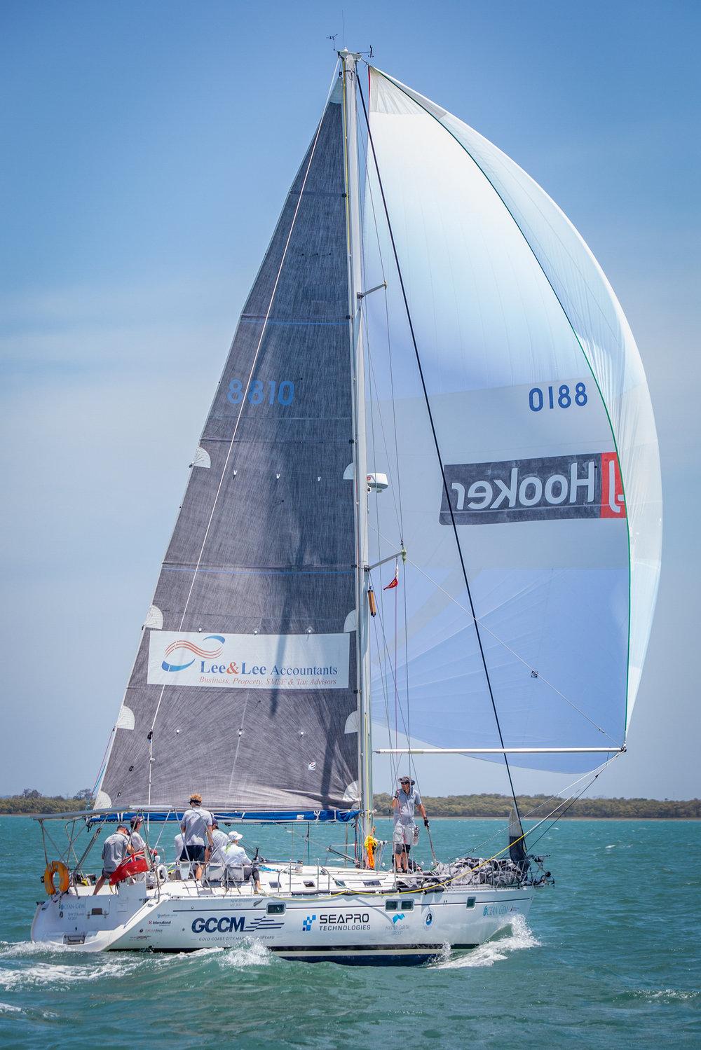 Ocean Gem competing at her 5th Queensland Beneteau Cup in 2018
