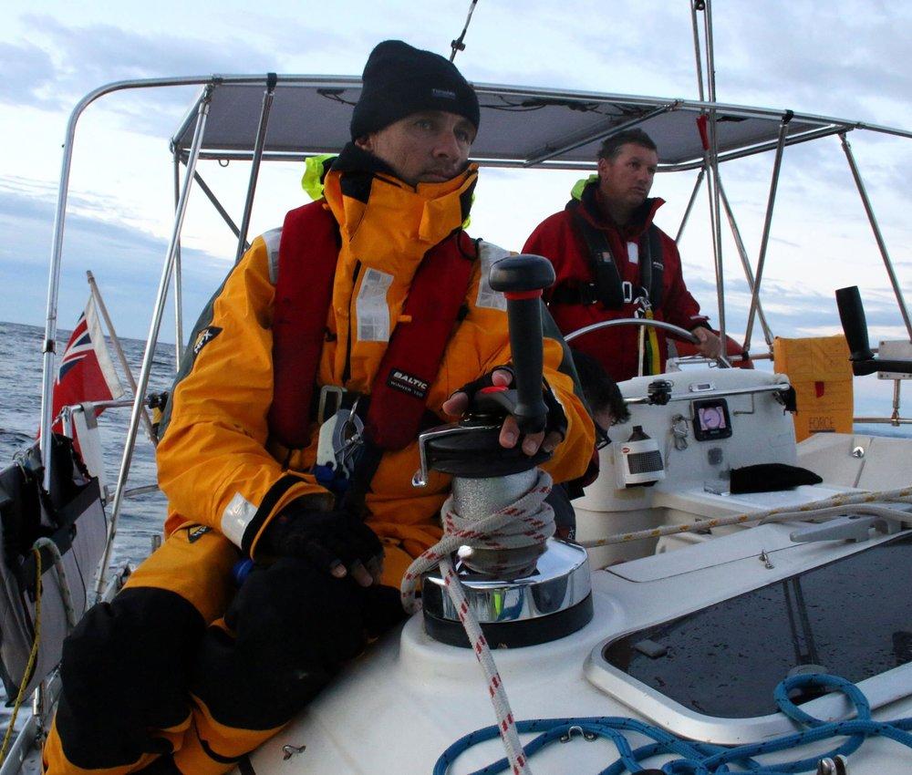 Tasman Sea Spinnaker Sailing