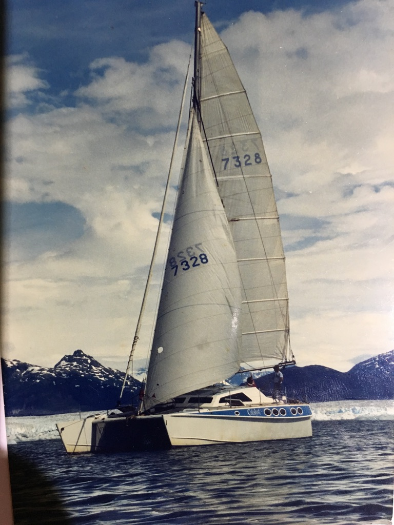 Dennis Webster Catalyst Catamaran