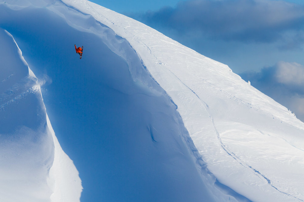 Snow Boarding Vernon Deck