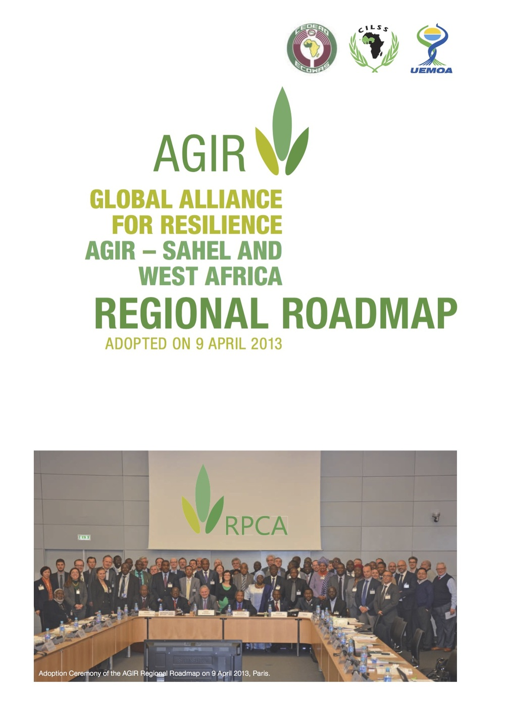 Global Alliance for Resilience Regional Roadmap - English