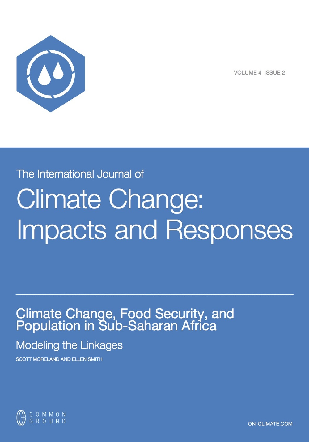 Climate Change: Impacts and Responses