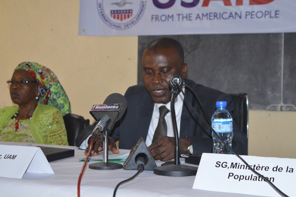Discours du Vice-Recteur de l'Université Abdou Moumouni lors de la cérémonie d'ouverture du PLS 2018   Remarks from University Abdou Moumouni Vice-Recteur at SLP 2018 Opening Ceremony