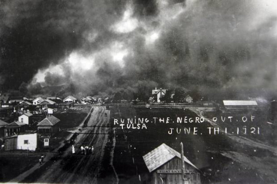 Greenwood District, Tulsa, Oklahoma - The Black Wall Street Massacre