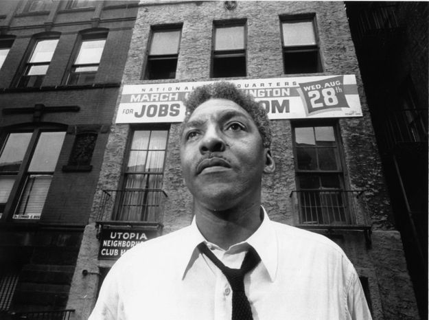 Bayard Rustin - Legendary Black, Workers' & Gay Rights Activist