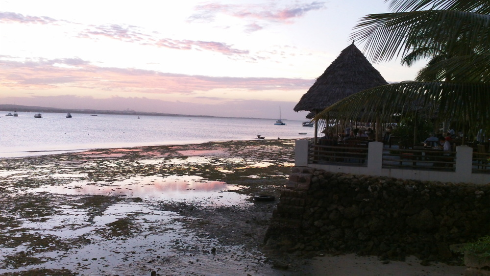 Sunset at Slipway in Dar es Salaam