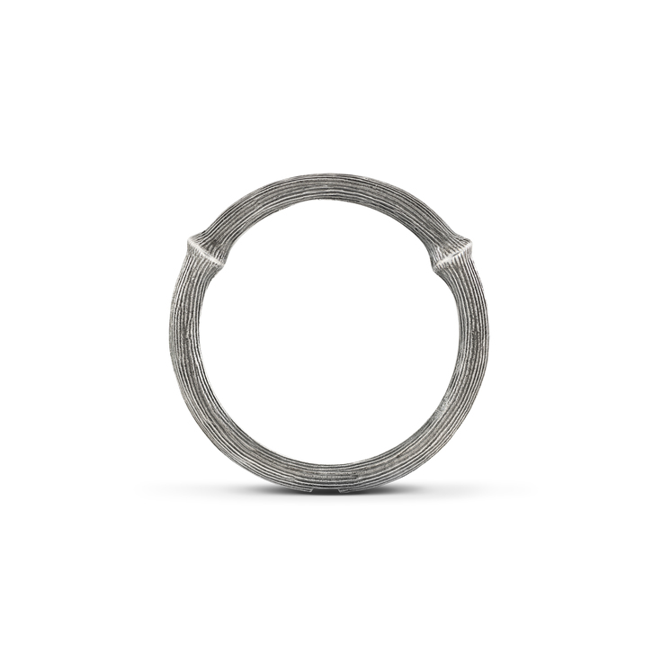 OLE LYNGGAARD NATURE RING STERLING SILVER  950,-