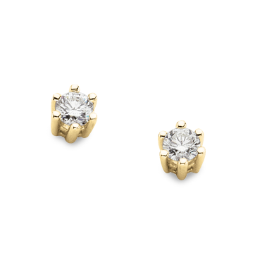 MG DIAMONDS - MADONNA ENSTENSØREPYNT M/ DIAMANT 0,40 ct  16.480,-