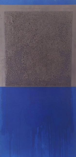 Mixed media on panel, 120 x 90 cm