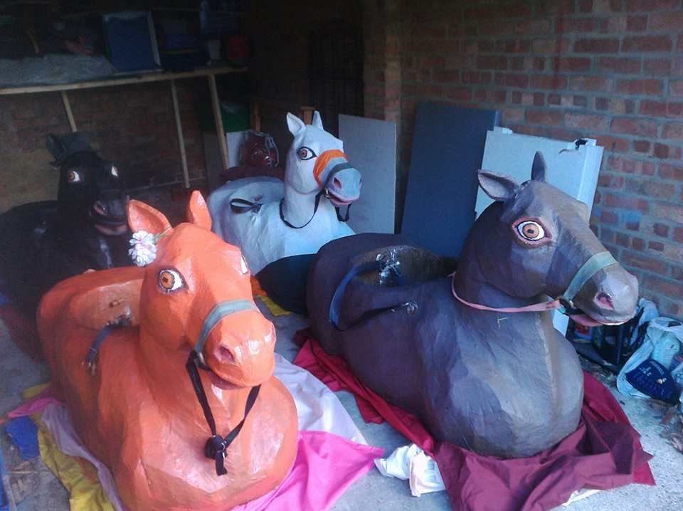 The four Banbury Horses in their stable.jpg