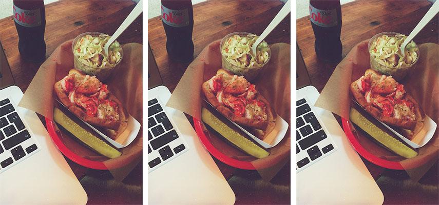 Lobster rolls at Luke's Lobster - just take my money, will you?