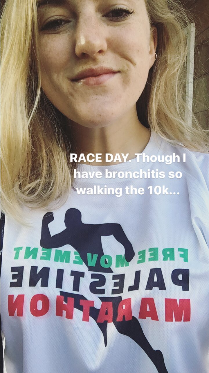 Race day. Or, as it turned out, walk day.
