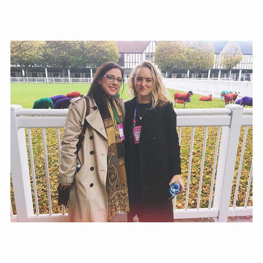 My first PR boss and I at Web Summit, way back in a different life. She went on to hire me not once but twice (!) more - I'm very lucky to now call her a friend.