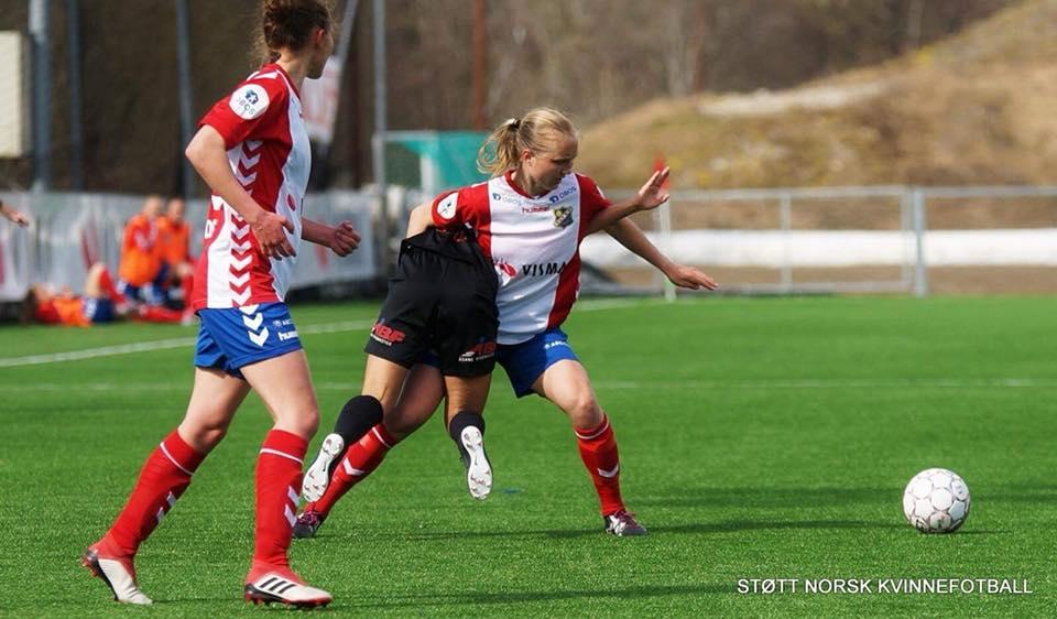 (Foto: blir nok nye tøffe tak for Noor Eckhoff mot Vålerenga)
