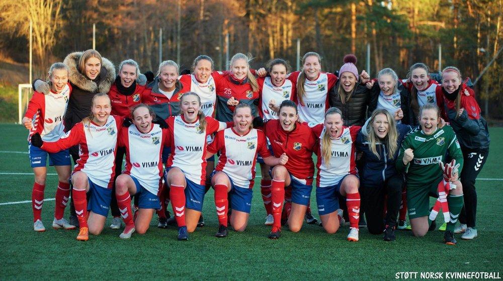 Foto: Støtt Norsk Kvinnefotball