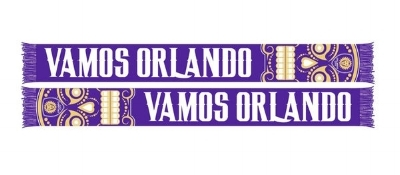 Orlando City SC 2016 Sugar Skull Scarf of the Month - $18.99 ON SALE