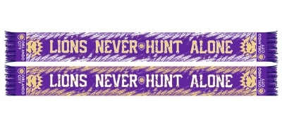 Orlando City SC Purple Lions Never Hunt Alone Scarf  - $24.99