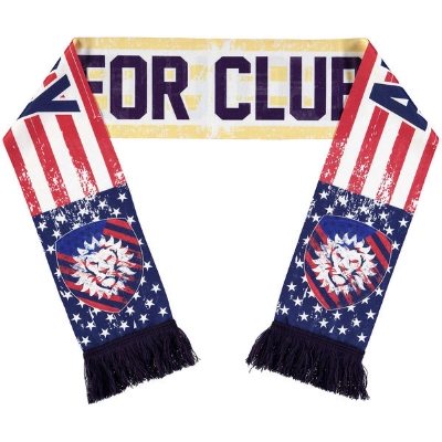 Orlando City SC Red/Yellow July Scarf of the Month  - $24.99