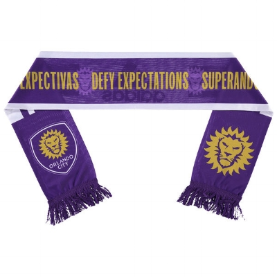 Orlando City SC adidas White Jersey Hook Sublimated Scarf - $19.99