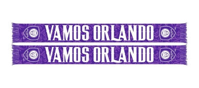 Orlando City SC 2016 Vamos Scarf of the Month - $18.99 ON SALE