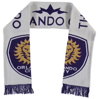 Orlando City SC adidas White Jersey Hook Jacquard Scarf - $24.99