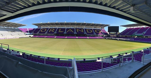 Not a bad way to spend an afternoon! #LetsScore #QueensCast #NWSL #OrlandoPride #FilledWithPride #NoFilter