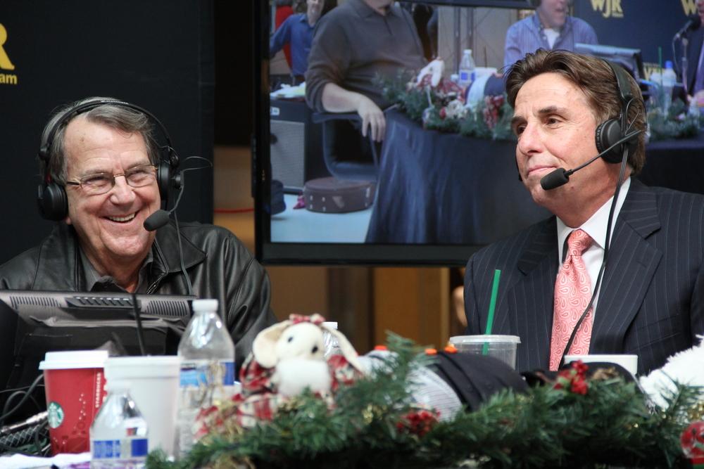 Bernie with Former Michigan Football Coach Lloyd Carr