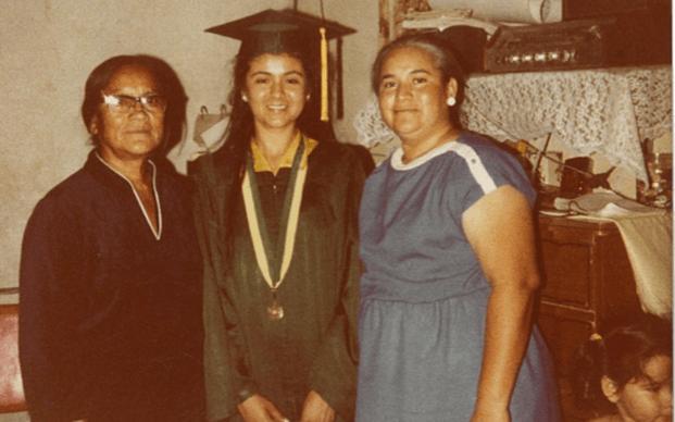 My greatgrandma Consuelo, my mama Esperanza, and my grandma Maria Esperanza.