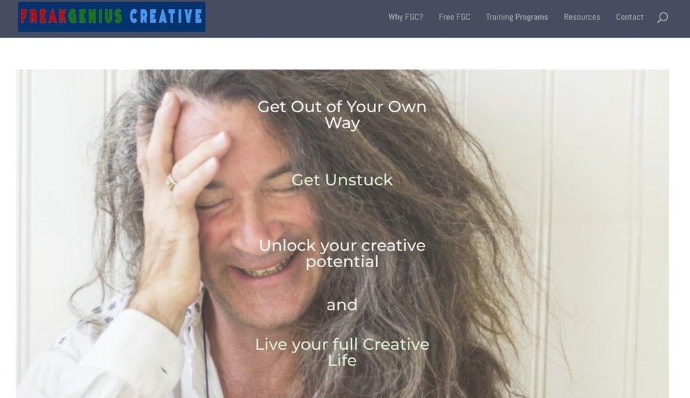 FreakGeniusCreative.com website coming soon.
