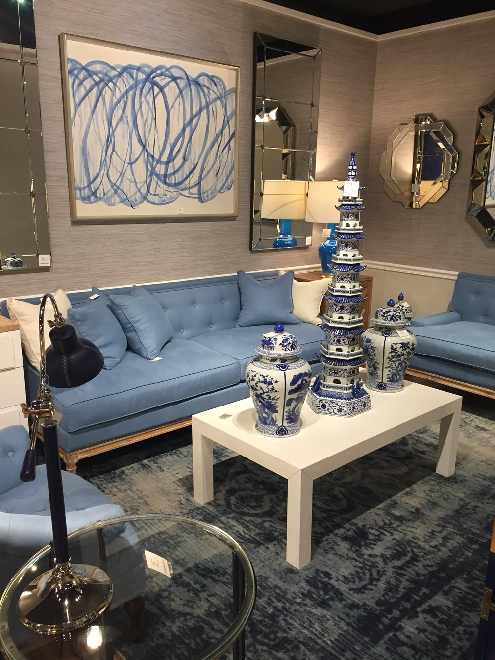 A softer palette of blue from Bungalo 5