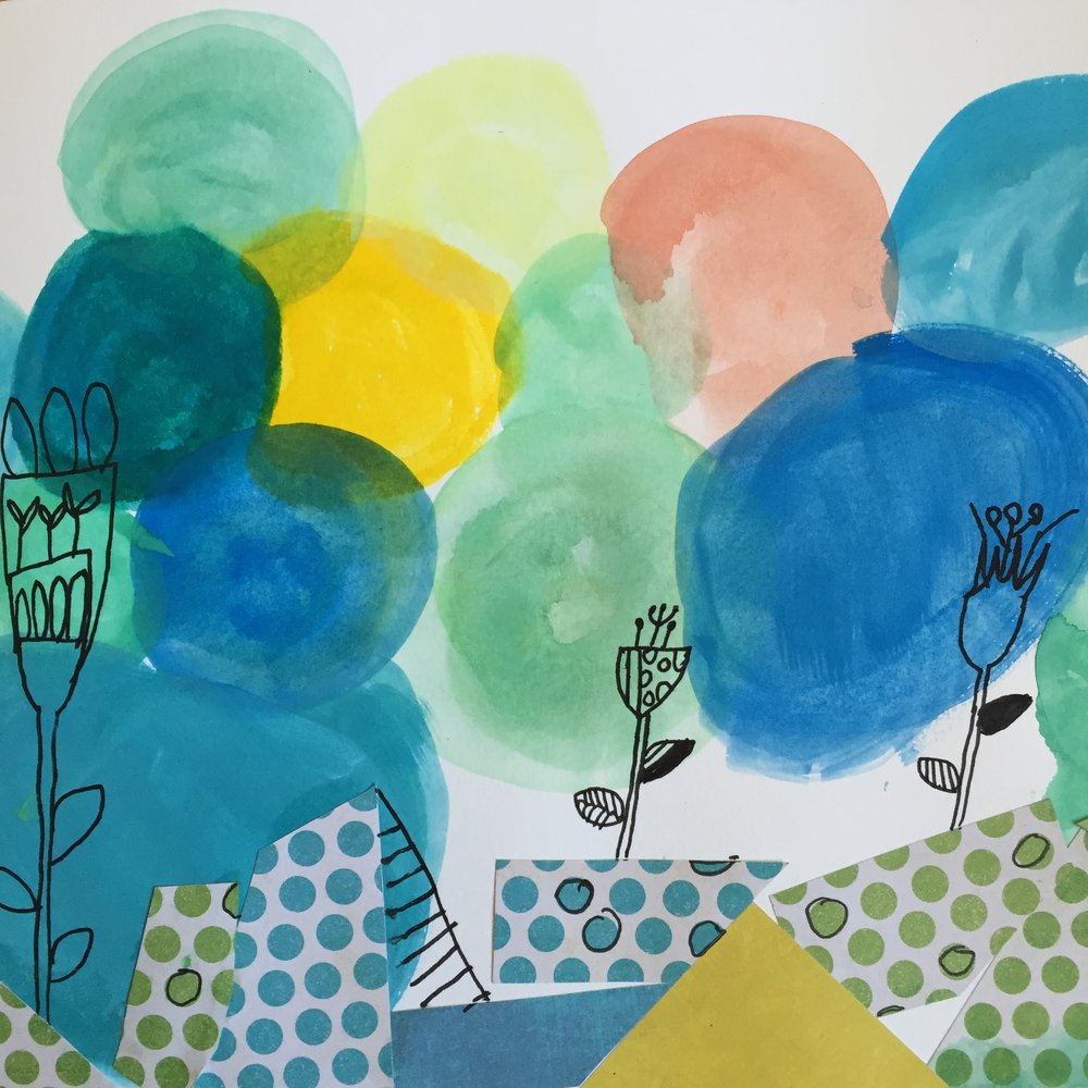 One of Liliana's line drawings for Lisa Congdon's class on Creativebug.jpg