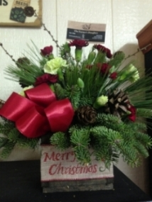 Order a special wreath or Christmas arrangement!