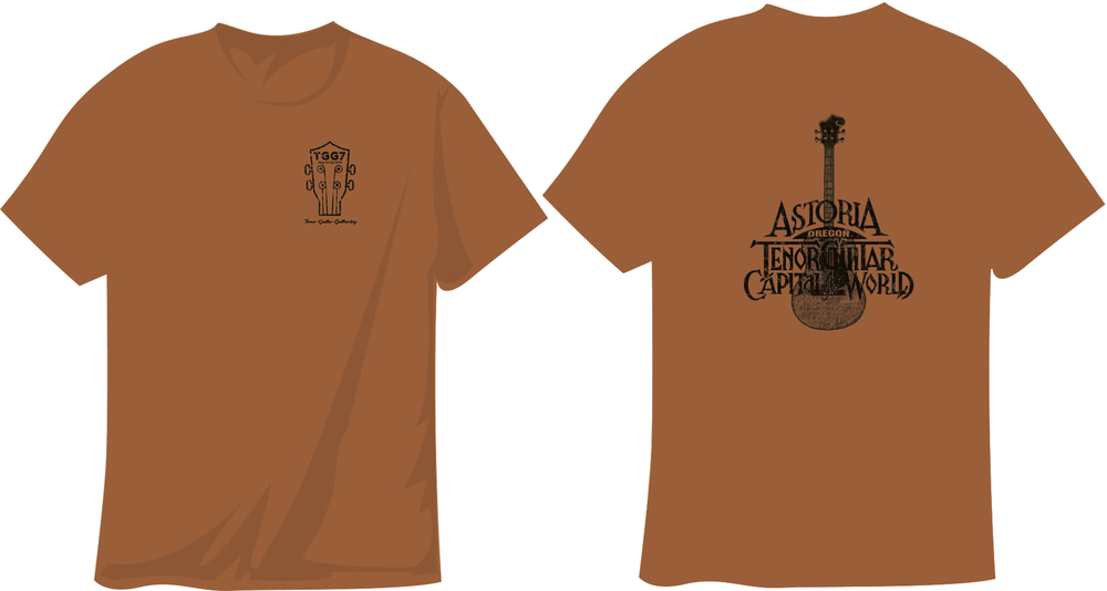 OFFICIAL TENOR GUITAR GATHERING T-SHIRT