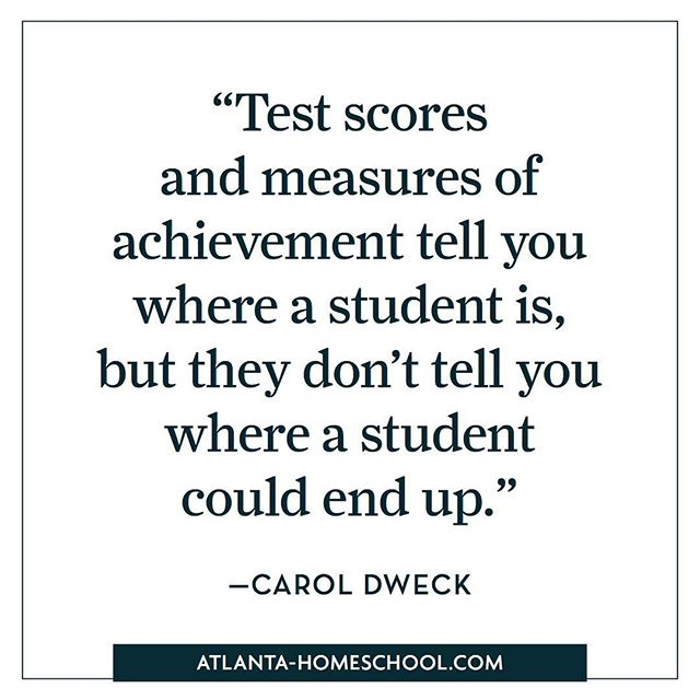 You are more than your test scores! #theacademy30338 #atlantahomeschool #homeschoolquotes