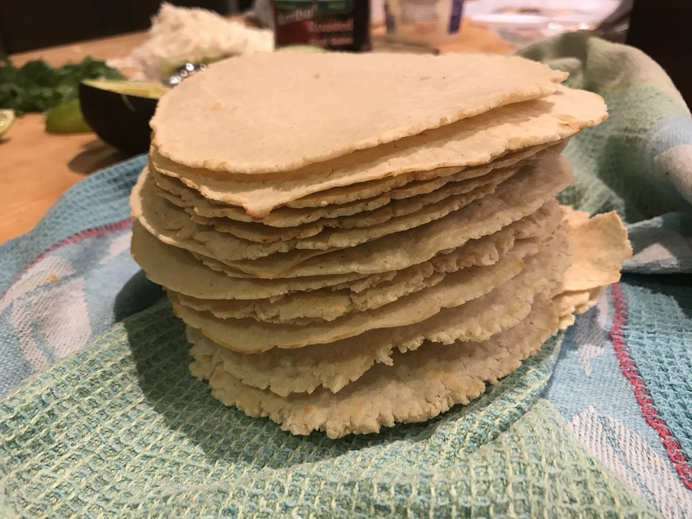 Tortilla stack. Get in my belly!