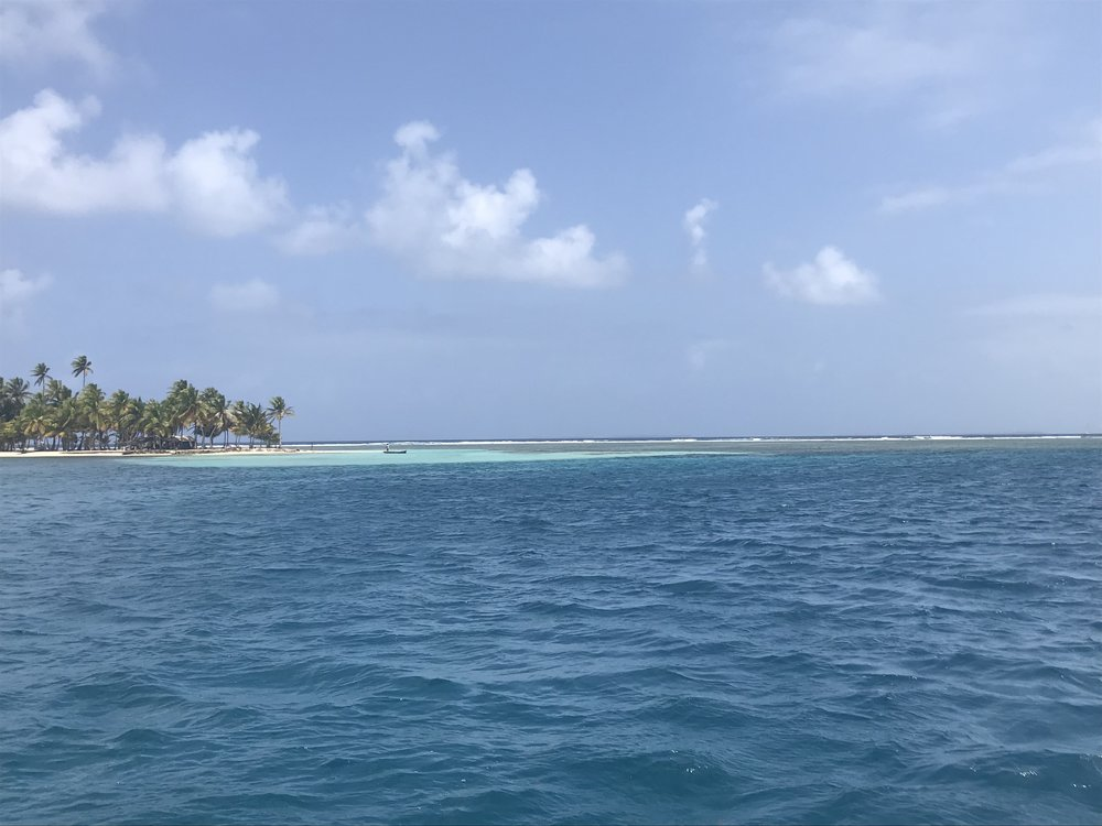 Anchorage in the Guna Yala (San Blas Islands)