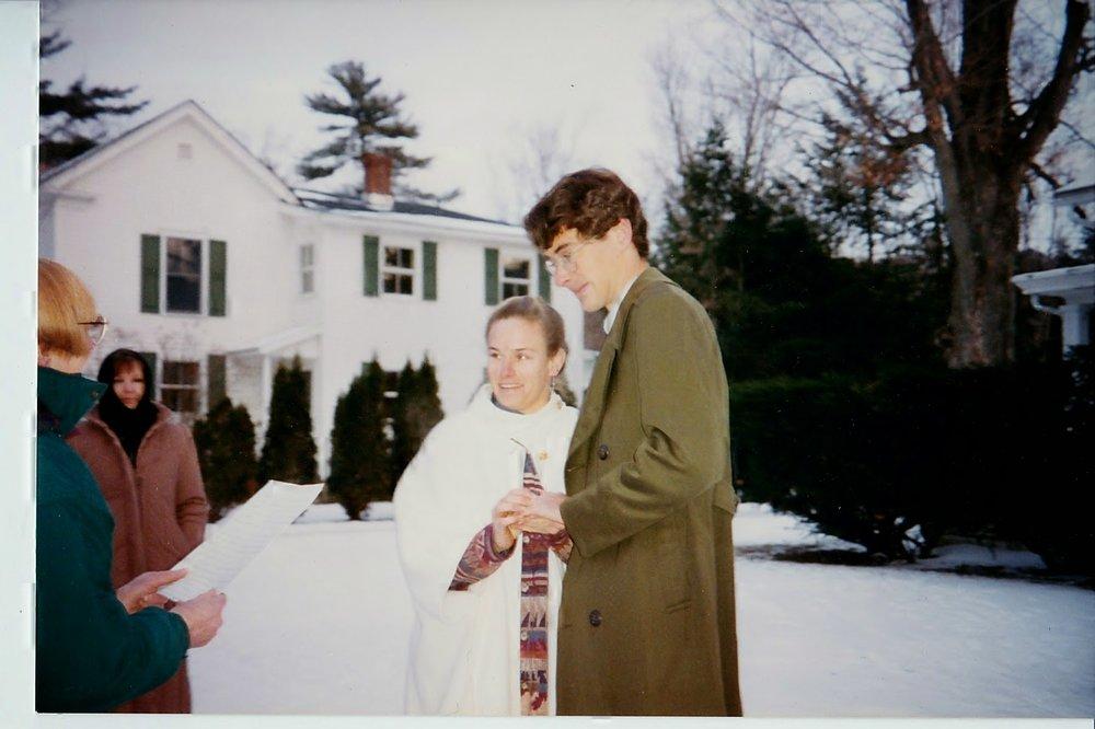 wedding day, 1993