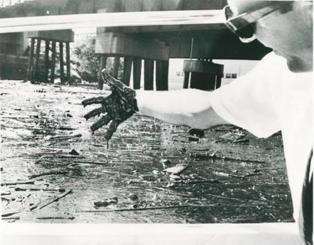 Cuyahoga River Pollution, 1969