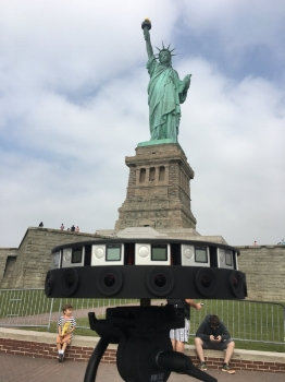 """Seven Points"" - Statue of Liberty, NY, NY"