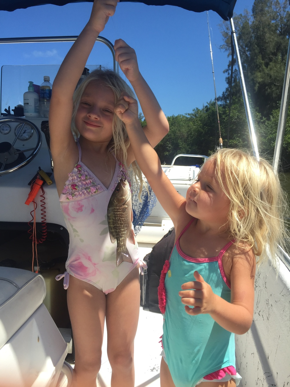 The next generation of professional fishers.