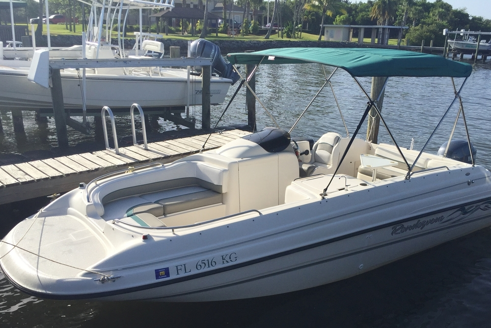 Florida Boat Rentals Bayliner Deck Boat