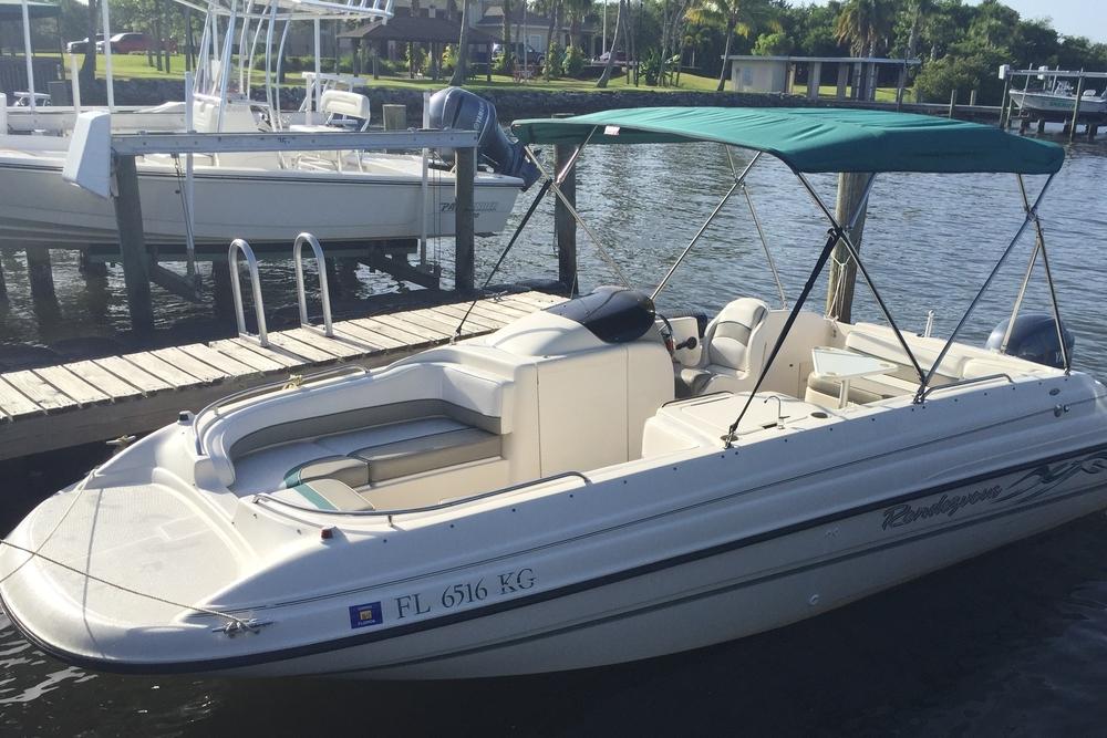 Florida Boat Rentals 22' Bayliner Deck Boat_ Vero Beach _ florida_ natehphoto
