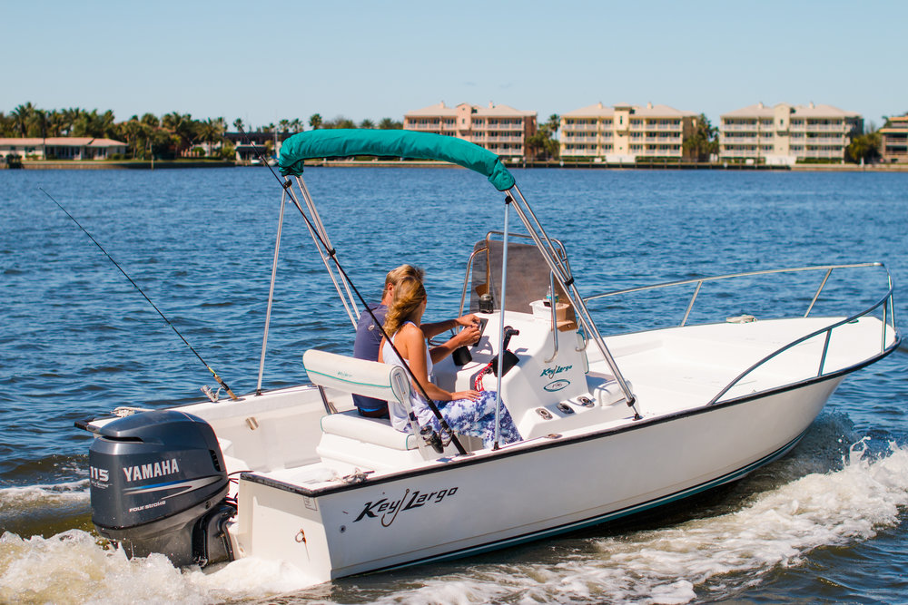 Florida Boat Rentals Key Largo