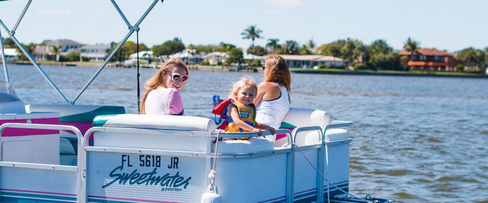 Florida Boat Rentals Pontoon