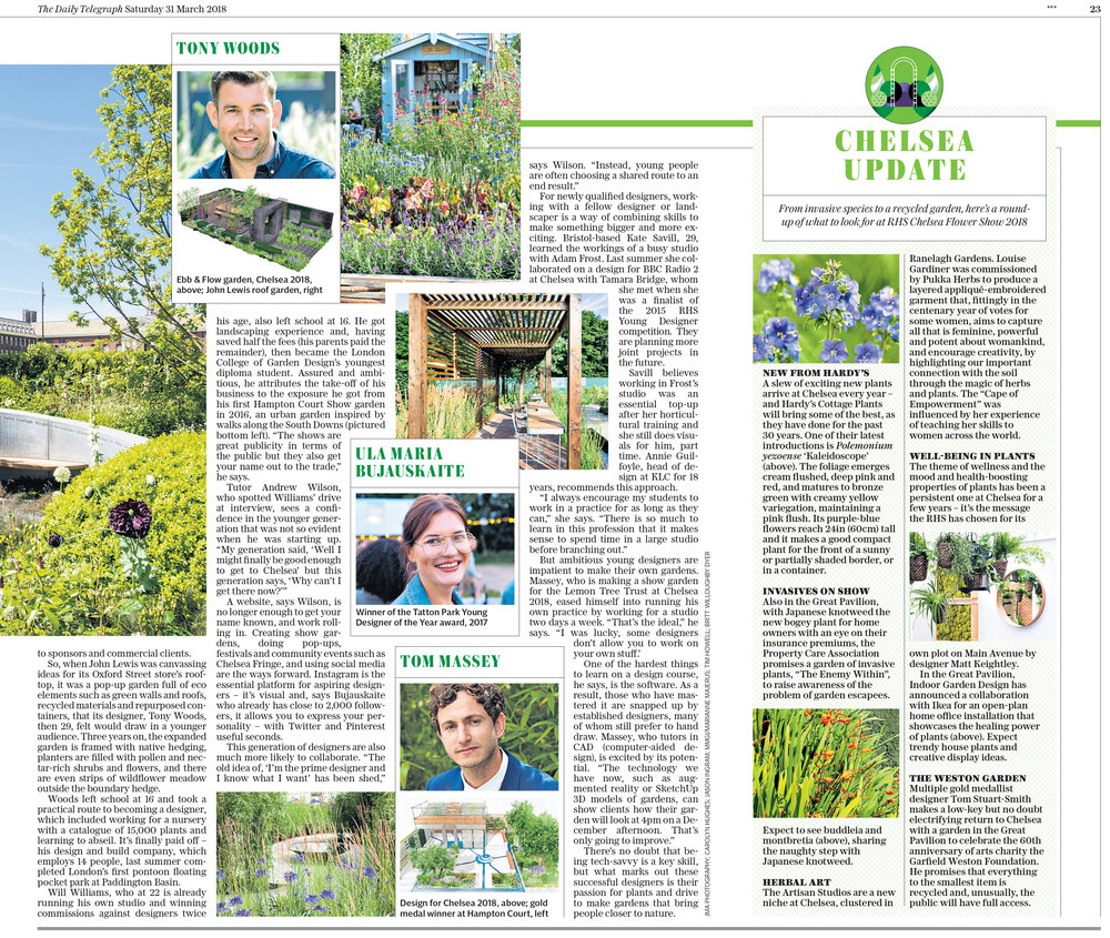 Tom Massey Telegraph